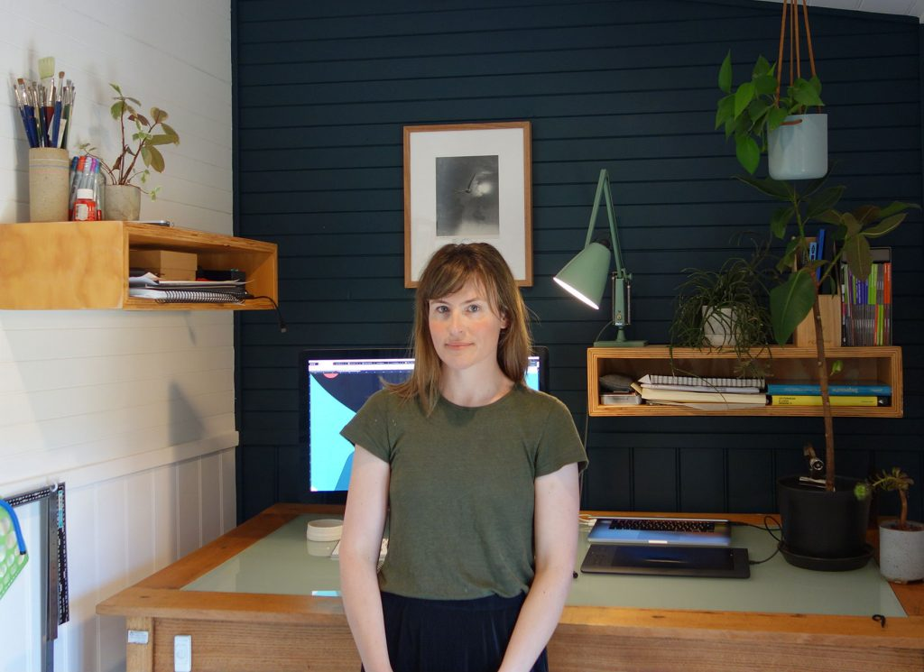 In the studio with Niki Fisher, illustrator of The Cruise Handbook – Lonely Planet's travel blog