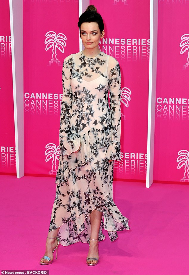 Emma Mackey puts on an elegant display at the Cannes Series Festival